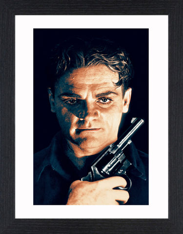 James,Cagney,-,04,Picture, Photo, Photograph, Print, Framed Photograph, Icon, B&W, James Cagney, actor, gangster, American Film Institute, James Francis Cagney, Jr, The Public Enemy, Angels with Dirty Faces, Academy Award, Screen Actors Guild