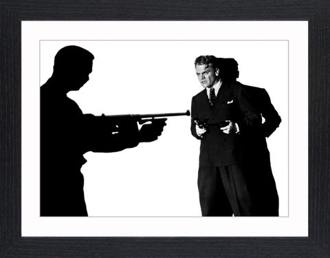 James,Cagney,-,05,Picture, Photo, Photograph, Print, Framed Photograph, Icon, B&W, James Cagney, actor, gangster, American Film Institute, James Francis Cagney, Jr, The Public Enemy, Angels with Dirty Faces, Academy Award, Screen Actors Guild