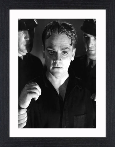 James,Cagney,-,06,Picture, Photo, Photograph, Print, Framed Photograph, Icon, B&W, James Cagney, actor, gangster, American Film Institute, James Francis Cagney, Jr, The Public Enemy, Angels with Dirty Faces, Academy Award, Screen Actors Guild