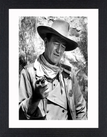 John,Wayne,-,02,Picture, Photo, Photograph, Print, Framed Photograph,  Icon, B&W, John Wayne, Marion Mitchell Morrison, American film actor, director, producer, Academy Award-winner, Western films, Stagecoach, The Quiet Man, The Searchers, True Grit, The Shootist, gunsli