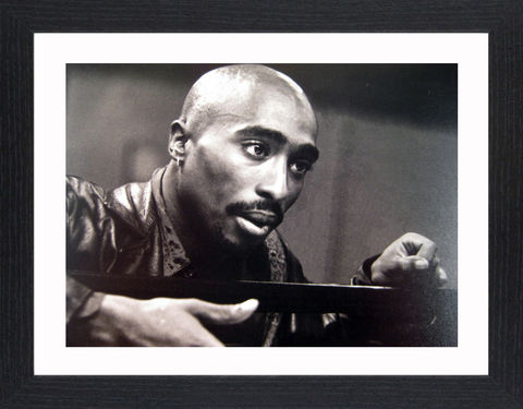 Tupac,Shakur,-,02,Picture, Photo, Photograph, Print, Framed Photograph,  Icon, B&W, Tupac Shakur, Tupac Amaru Shakur , 2Pac, Pac, Makaveli, American,  rapper, actor, Hip Hop, East Coast, West Coast, Las Vegas