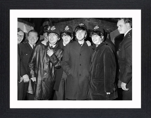 The,Beatles,-,01,Picture, Photo, Photograph, Print, Framed Photograph,  Icon, B&W, The Beatles , English, rock band, Liverpool, John Lennon, Paul McCartney, George Harrison, Ringo Starr, skiffle, rock and roll, pop ballads, psychedelic rock, fab four, Beatlemania, abby ro