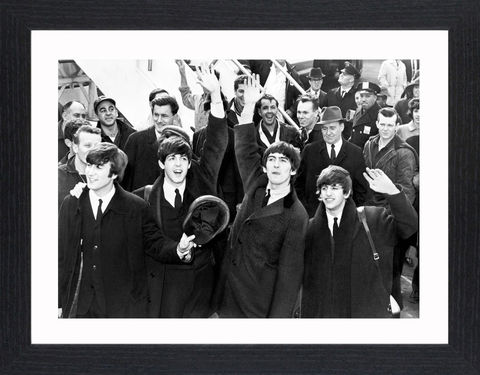 The,Beatles,-,03,Picture, Photo, Photograph, Print, Framed Photograph,  Icon, B&W, The Beatles , English, rock band, Liverpool, John Lennon, Paul McCartney, George Harrison, Ringo Starr, skiffle, rock and roll, pop ballads, psychedelic rock, fab four, Beatlemania, abby ro
