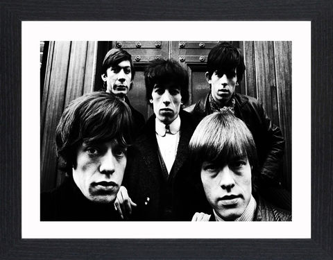The,Rolling,Stones,-,01,Picture, Photo, Photograph, Print, Framed Photograph,  Icon, B&W, the rolling stones, the stones, English, rock band, paint it black,  Brian Jones, Ian Stewart, Mick Jagger,  Keith Richards, sticky fingers, a bigger bang