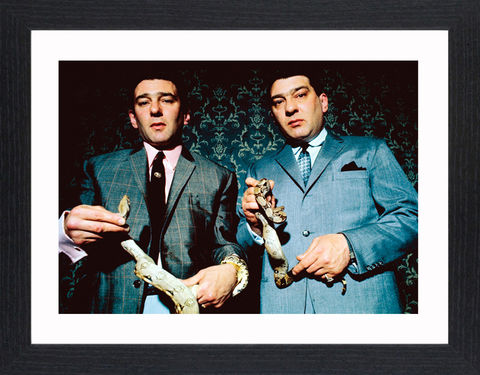 The,Krays,-,02,Picture, Photo, Photograph, Print, Framed Photograph,  Icon, B&W, Krays, Kray Twins, Ronnie, Reggie, organised crime, east end, gangsters, The Krays, nipper read, life