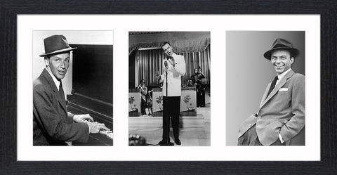 Frank,Sinatra,-,06,Picture, Photo, Photograph, Print, Framed Photograph, Picture, Icon, B&W, Frank Sinatra, actor, singer, film, rat pack, idol, bobby soxers 