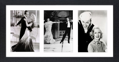 Fred,Astair,&,Ginger,Rogers,-,04,Picture, Photo, Photograph, Print, Framed Photograph, Icon, B&W, Fred Astaire, Ginger Rogers, film, Broadway, stage dancer, choreographer, singer, actor, American,  actress, hollywood, screen legend, kitty foyle