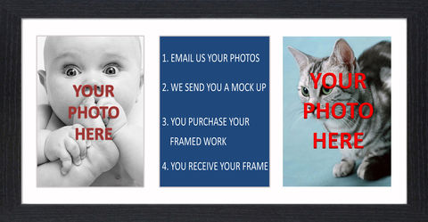 Design,Your,Own,Picture,-,01,Photo, Frame, Framed, Bespoke, Design your own, B&W, Icon