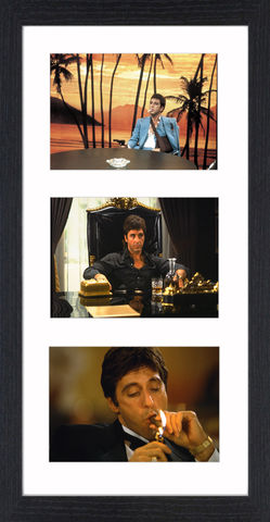 Al,Pacino,in,Scarface,-,07,Picture, Photo, Photograph, Print, Framed Photograph, Al Pacino, Scarface, film, Brian De Palma, Oliver Stone, Tony Montana. Cuban, refugee, Mariel Boatlift, drug cartel kingpin, cocaine, cult following, cultural icon