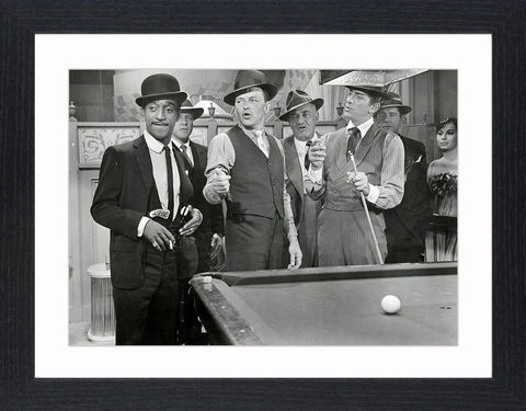 The,Rat,Pack,-,02,Picture, Photo, Photograph, Print, Framed Photograph, The Rat Pack, Frank Sinatra, Dean Martin, Sammy Davis, Jr., Peter Lawford, Joey Bishop, Ocean's 11