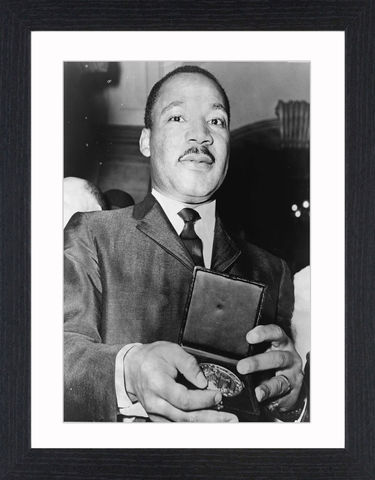 Martin,Luther,King,Jr,-,01,Picture, Photo, Photograph, Print, Framed Photograph, Martin Luther King, clergyman, activist, African-American, Civil Rights Movement, I have a dream, nobel peace prize