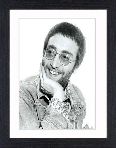 John,Lennon,-,01,Picture, Photo, Photograph, Print, Framed Photograph, John Lennon, the beatles, singer, songwriter, anti-war movement, icon
