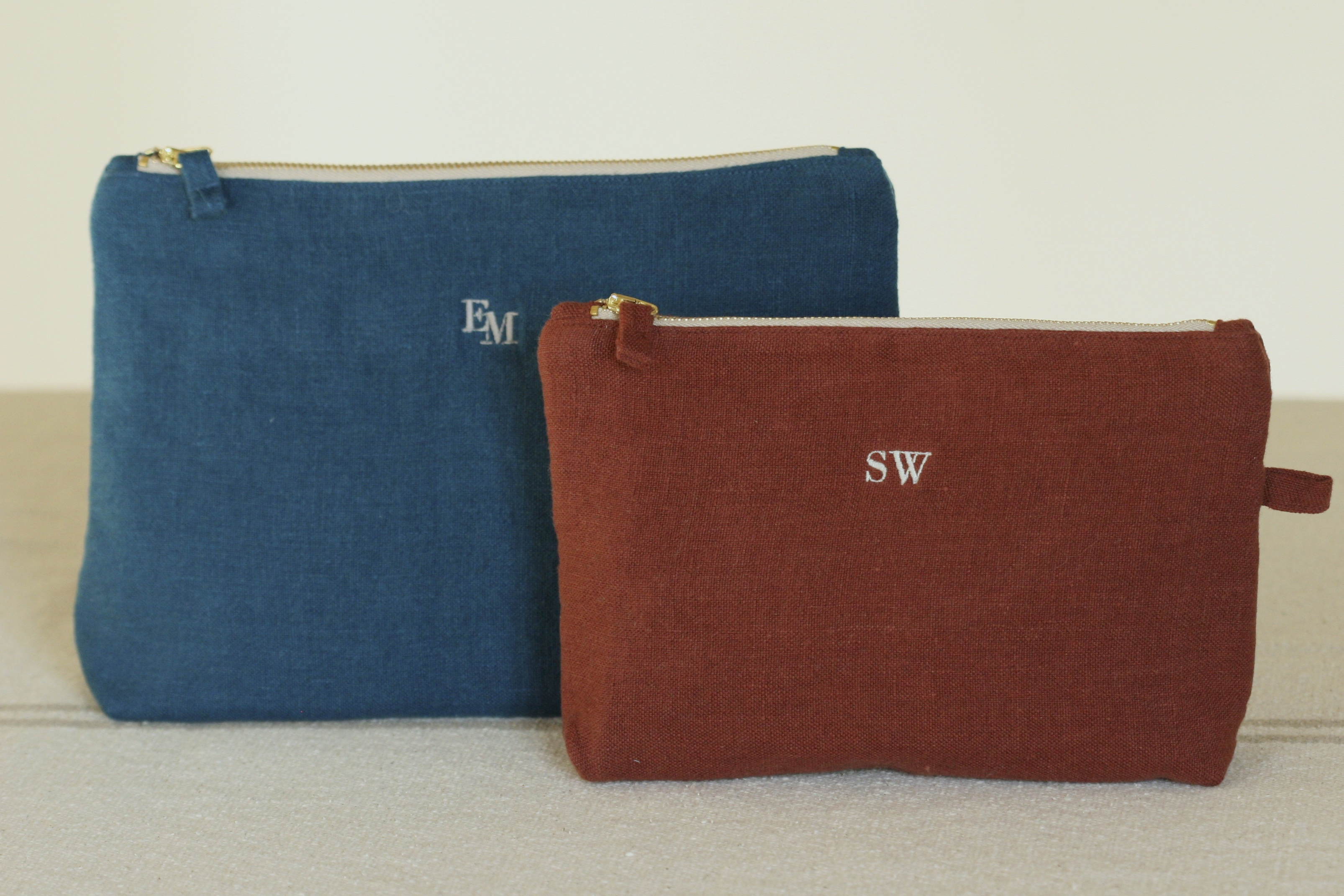 Monograms linen products - Once Milano - OnceMilano