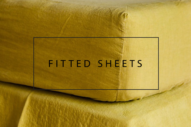 luxury linen fitted sheets