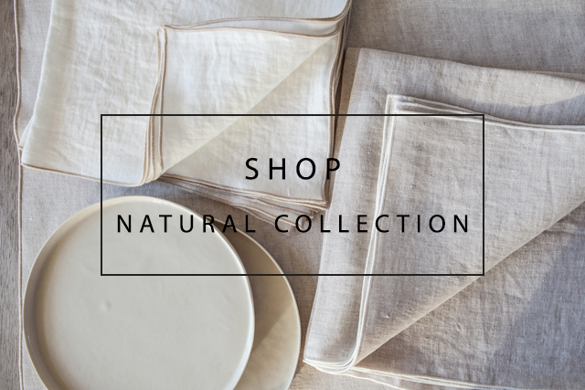 OnceMilano natural linen collection