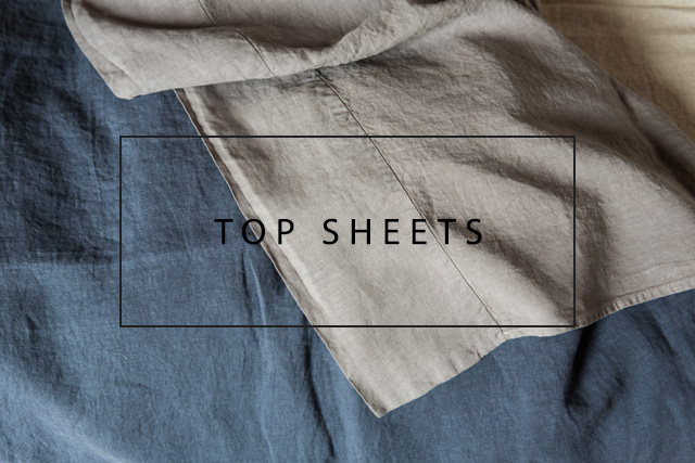 luxury linen top sheets