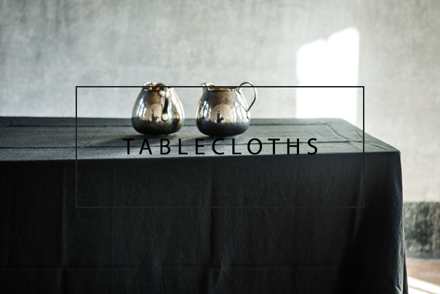 Luxury linen tablecloths