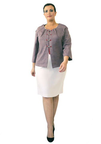 J201S13,plus size, office wear