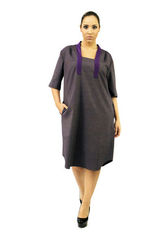 D107S13,plus size, office wear