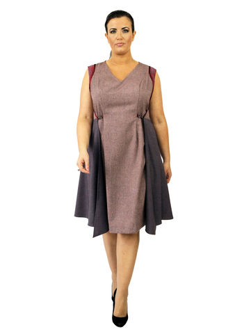 D106S13,plus size, office wear