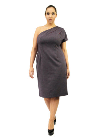 D104S13B,plus size, office wear