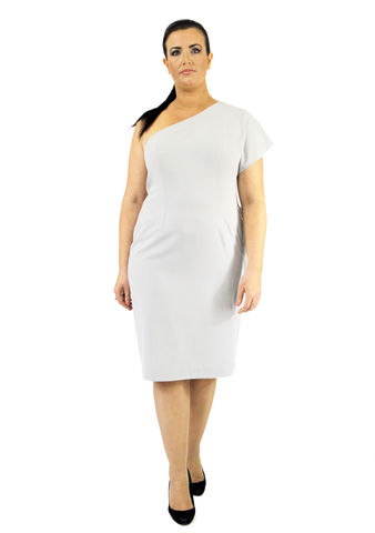 D104S13A,plus size, office wear