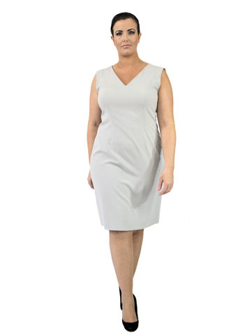 D102S13A,plus size, office wear