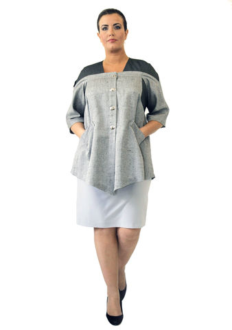 J207S13,plus size, office wear