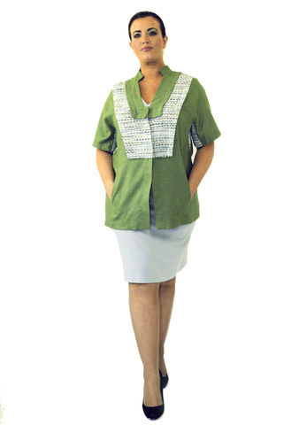 J209S13,plus size, office wear