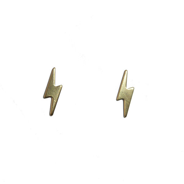 Tiny Lightening Studs by Custom Made - product images