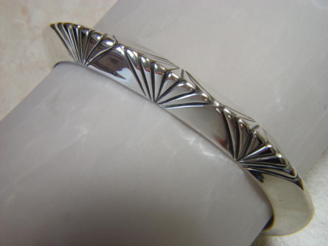 Heavy Sterling Silver Bracelet - product images  of