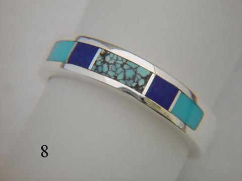 Turquoise,and,Silver,Inlay,Ring,-,5.5,mm,wide,Inlay Ring, Turquoise  Inlay, Silver and Turquoise, Lapis Lazuli, silver ring, wedding ring, Inlay wedding band, Inlay wedding ring, carusetta