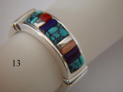 Multi-stone,inlay,-,7,mm,wide,Spider web Turquoise, Inlay Ring, Turquoise  Inlay, Coral, sugilite, Lapis Lazuli, Silver and Turquoise, silver ring, wedding ring, Inlay wedding band, Inlay wedding ring, carusetta