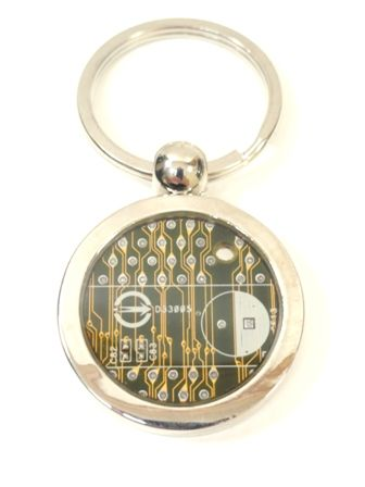 Circuit Board Key Chain - product images  of