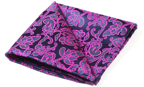 Apollo,pocket square, silk pocket square, mens pocket square, british made pocket square, british silk pocket square, paisley pocket square, pocket square and cravat, woven silk pocket square