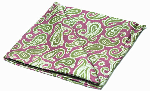 Hendrix,pocket square, silk pocket square, mens silk pocket square, printed silk pocket square, mens hank, handkerchief, silk handkerchief, paisley pocket square, silk paisley pocket square