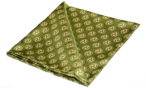 Shion,green cravat, green silk ascot tie, green cravate tie, cravatte, cravate, cravatta, silk neckwear