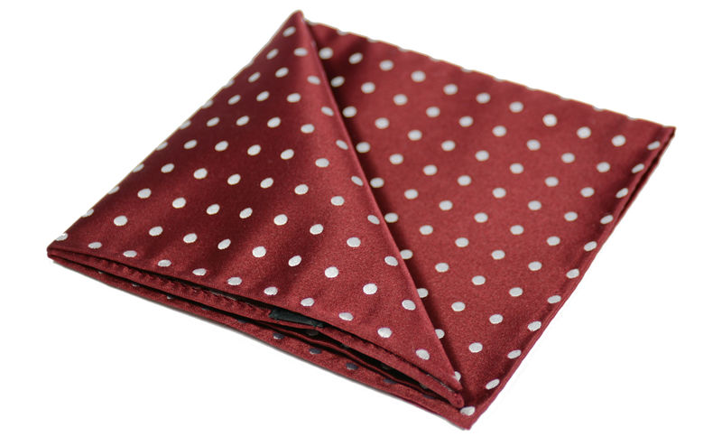 Red And White Polka Dot Head Scarf Erieairfair