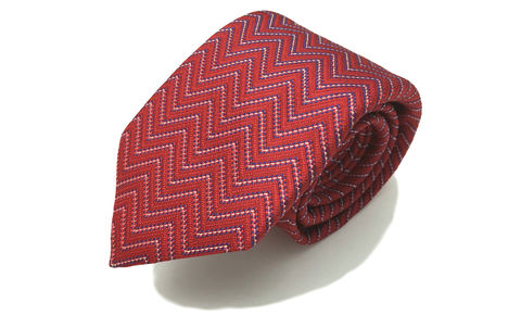 VITTORIO,red silk tie, red blue white silk tie, mens silk ties online, mens silk ties uk, silk ties uk, silk neckties, red necktie