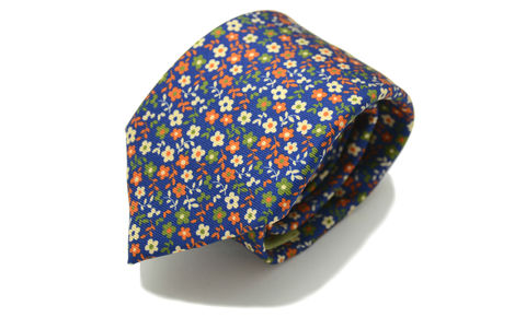 MYALL,floral silk necktie, floral silk tie, mens floral ties, floral ties online, printed silk ties online, printed silk ties, silk ties for men, flower pattern tie,