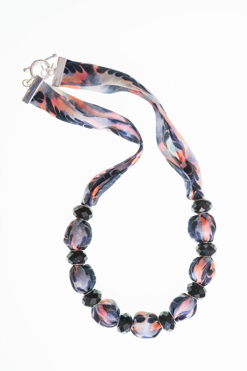 Trerice Short Necklace with Small Beads - product image