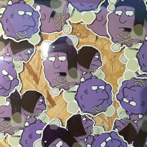 Bullies,x,Koffin,&,Weezing,Pokemon,Die,Cut,Vinyl,Sticker,simpsons sticker, pokemon stickers, Bullies x Koffin & Weezing, simpsons mashups, @thumbs1, art by thumbs