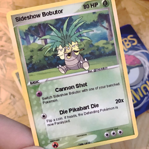 Sideshow,Bob,x,Exeggutor,Pokemon,Trading,Card,Sideshow Bob x Exeggutor Pokemon Trading Card, Pokemon simpsons trading card, pokemon simpsons sticker, the simpsons mash up, the simpsons stickers, thumbs design, @thumbs1, thumbs artist