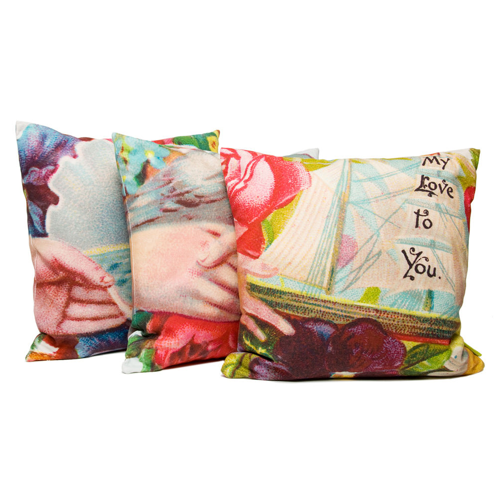 My Love To You Ship Cushion - product images  of