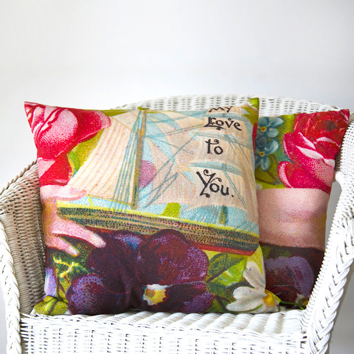 My Love To You Ship Cushion - product image