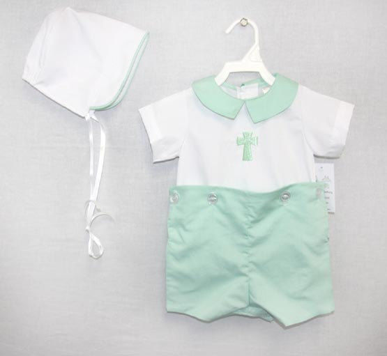 Boy Baptism Outfit | Dedication Outfit for Baby Boy | Zuli Kids Clothing 292099 - product images  of