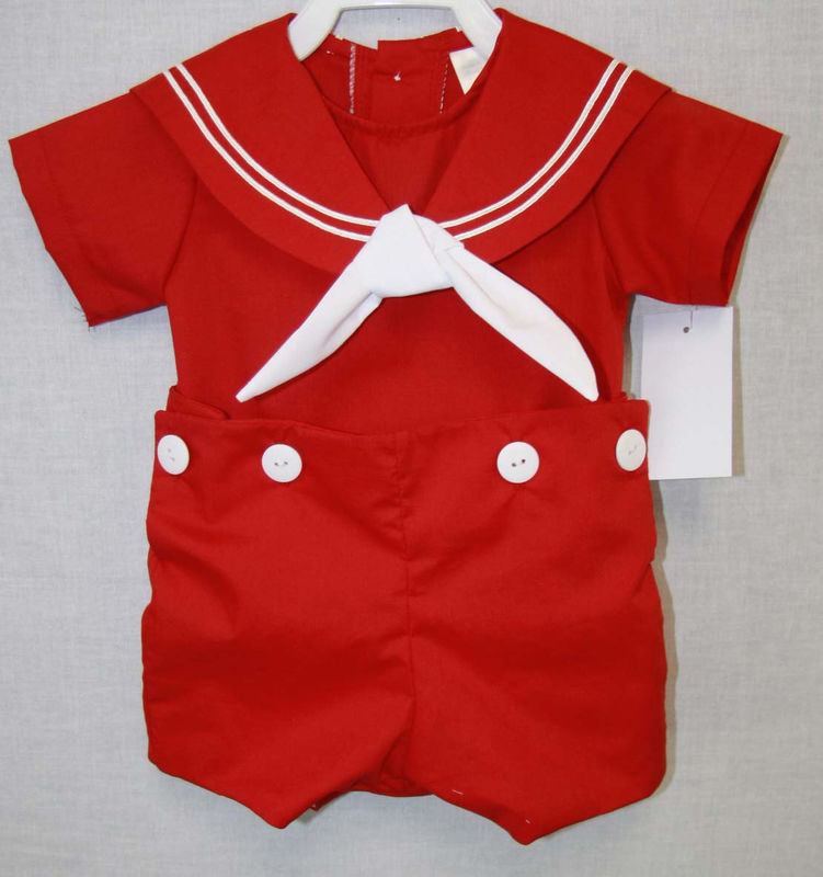 Nautical Baby Clothes Sailor Outfit