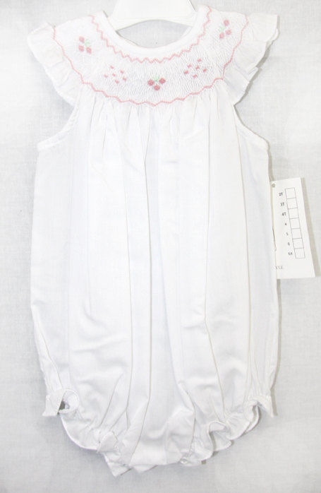 5bddcf9641a Baby Girl Smocked Bubble