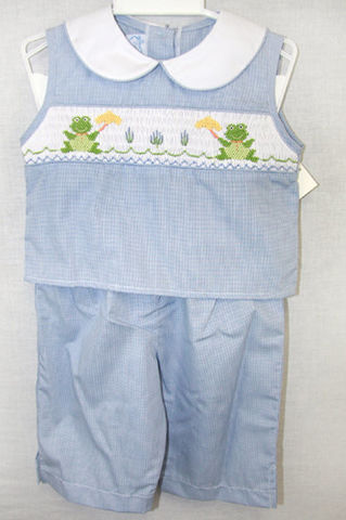 Smocked,Baby,Clothes,|,Clothing,Dresses,412039,A022,Smocked Dresses, Smock Dress, Smocked baby clothes, Smocked Clothing, Smocked Dress, Girls Capris, Capri Pants