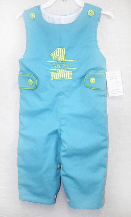 1st Birthday Outfit Boy Baby First Second 292038